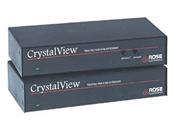 Rose CrystalView CAT5 SUN Dual KVM Kit w/Audio & Serial (local, remote & power supply), CRK-2P/SUN/AUD