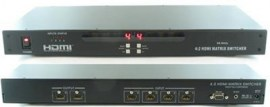 shinybow 4x2 hdmi matrix routing switcher rackmount with rs232 and infra red remote sb 5642