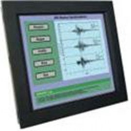 ultraview 10 4 panel mount led with nema4 ip 65 front protection capacitive touch screen and serial controller