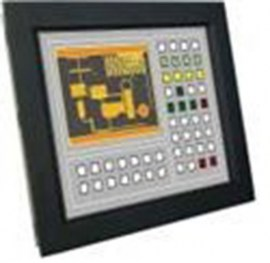 ultraview 15 panel mount lcd with nema4 ip 65 front protection capacitive touch screen and serial controller