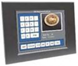 ultraview 8 4 panel mount led with nema4 ip 65 front protection capacitive touch screen and usb controller